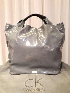 LIKE NEW!Calvin Klein Grey Tote Bag