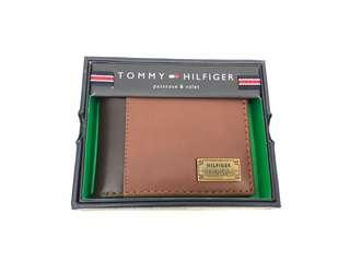 Tommy Hilfiger Wallet Leather 男士銀包 美國入口