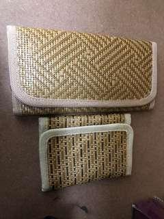 Set of 2 wallets