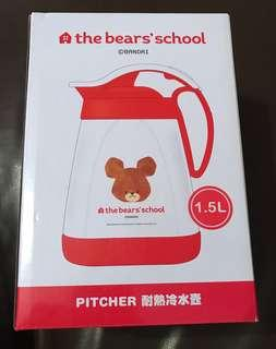 The bears' school pitcher 耐熱冷水壼 (100% new)