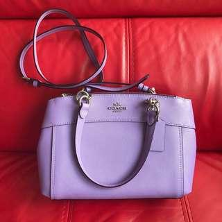 🚚 #Carouween40 Coach Mini Brooke Carryall Crossbody Bag (Iris)