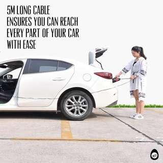 🚚 Car vacuum cleaner with free attachments
