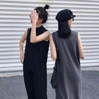 Slim Fit High-Neck Dress