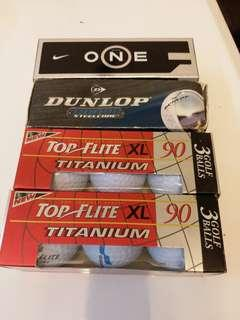 Golf balls x 12