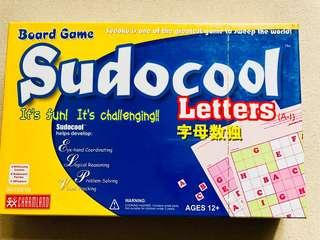 Sudocool Letters Board Game