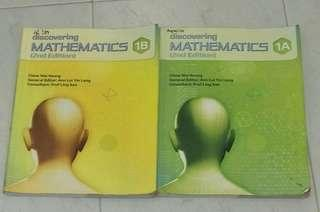discovering mathematics (2nd edition) 1a and 1b