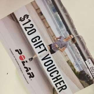 $120 Gift Voucher - For Heart Rate Monitors, Fitness Trackers and GPS Sport Watch