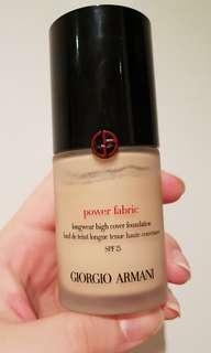 Giorgio Armani Power Fabric Foundation (2)