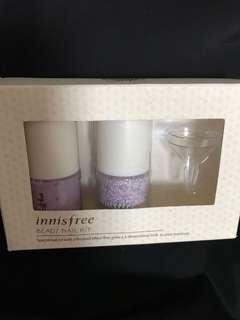 Innisfree beans nail kit