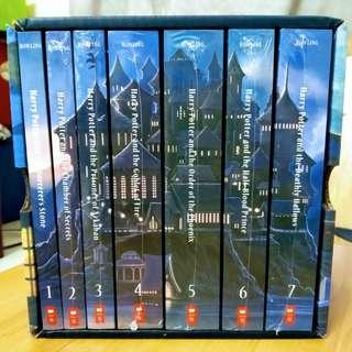 Harry Potter Complete Book Set + FREE The Cursed Child Hard Cover