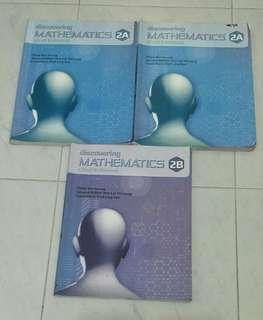 discovering mathematics (2nd edition) 2a and 2b