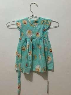 Dress Bayi 0-6Bulan