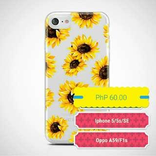 Oppo A59/F1s and Iphone5/5S/SE Sunflower Case
