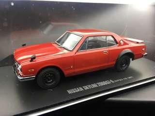 1/43 Nissan Skyline 2000GT-R 2 Door 1971 Kyosho (頭冚可開)