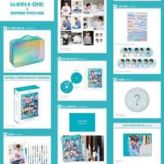 [UNSEAL] WANNA ONE SUMMER PACKAGE