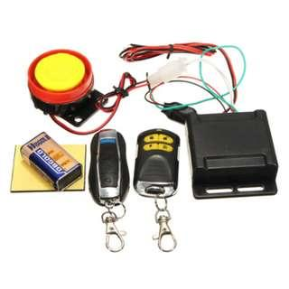 motorcycle anti theft alarm system 2 remote key