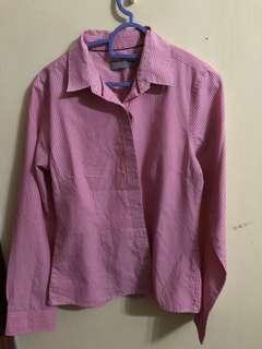 Seed pink stripes shirt