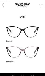 LOOKING FOR SUNNIES SPECS SYBIL CHARCOAL