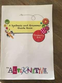 A Synthesis and Grammer guide book