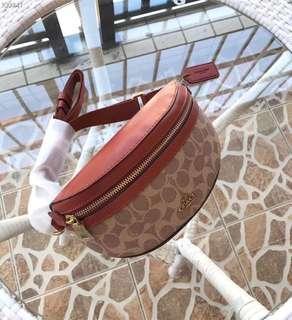 美國正品代購coach39937真皮斜背包