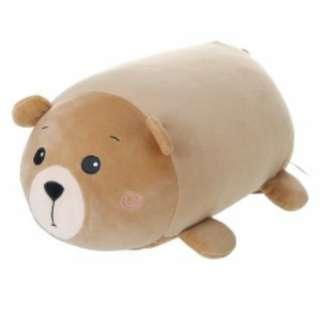 BNWT - miniso - soft brown bear plushie toy