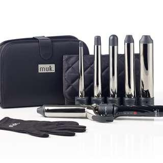 MUK - Curl Stick The Collection Hair Curling Iron Set of 6