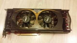 Palit GeForce GTX 260 sonic 216 SP 896MB (used)