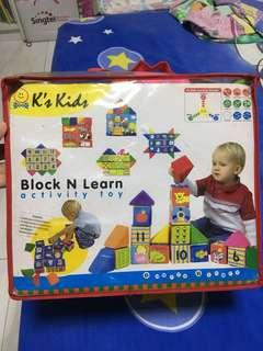 Block and Learn Activity Tou