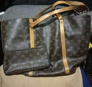 LV Sac Bag (large) with coin purse