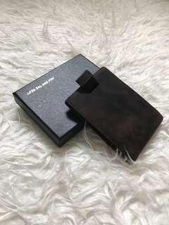 Men wallet 暗格防盗銀包