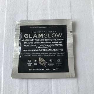 Authentic Glam Glow Hollywood Youth Mud Tingle Exfoliate Treatment Face Mask