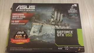 Asus GeForce GTX 950 2GB GTX-OC-2GD5