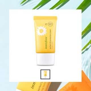 🦄 innisfree perfect uv protection cream triple care spf50+/pa+++