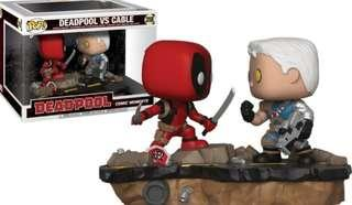 Funko Pop  Marvel Comic Moments Deadpool Vs Cable