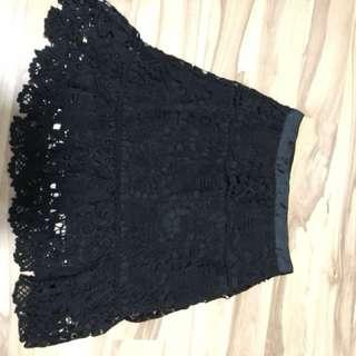 MDS lace or crochet skirt