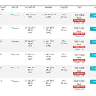 Airline Ticketing Promo