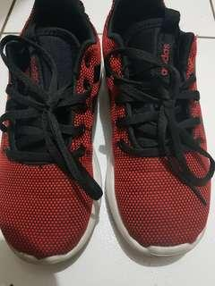 Adidas Cloudfoam Red Rubbershoes