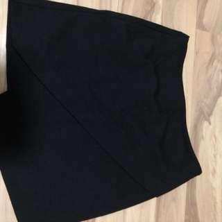 Topshop Asymmetrical A line skirt