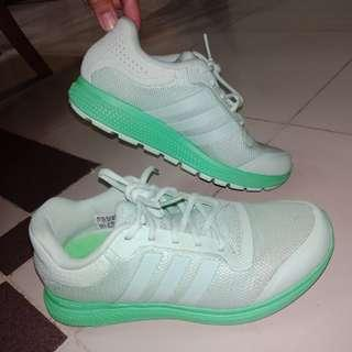 Adidas Neon Lime Green Rubber Shoes