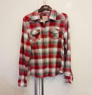 American Brand Checkered Top