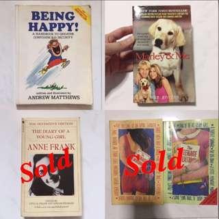 Motivational Self Help Novel Books