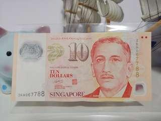 7788 Lucky Note $10