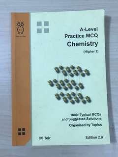 (CS TOH) A LEVEL PRACTICE MCQ CHEMISTRY