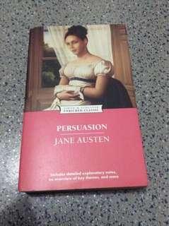 Persuasion by Jane Austen (paperback)