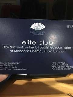 Mandarin Oriental 50% Room with Upgrade Room