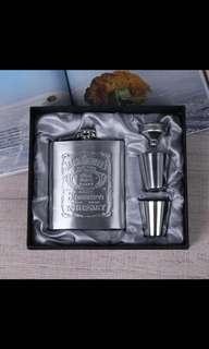 Jack Daniels Flask Set