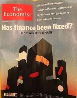 The economist 2018 (可買任何一期)
