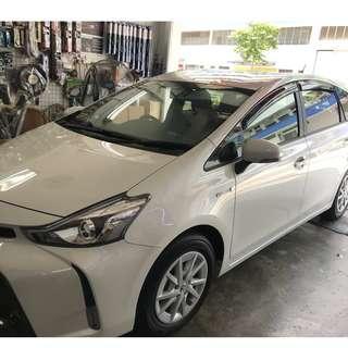 Toyota Prius Plus + Hybrid Door Visor 2018
