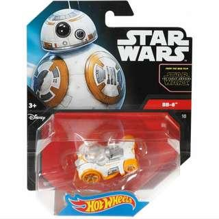 Hot Wheels Star Wars The Force Awakens BB-8 Character Cars Hotwheels Vehicles MISB