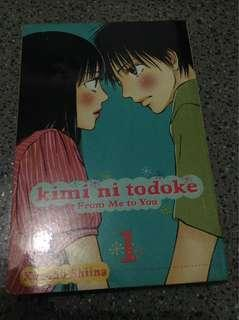 Kimi Ni Todoke Vol 1 by Karuho Shiina